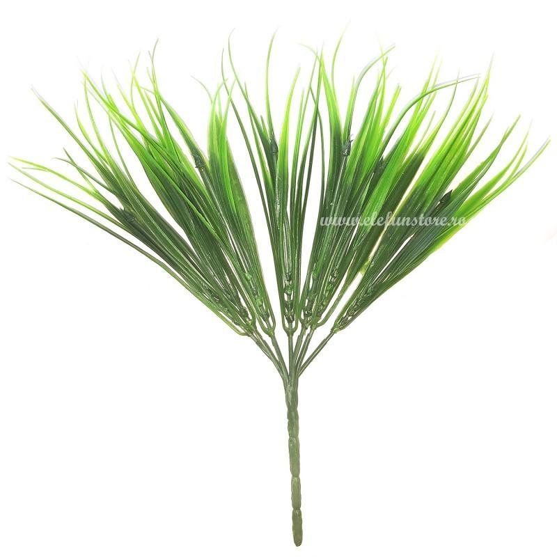 Buchet 7 fire iarba degrade 30 cm