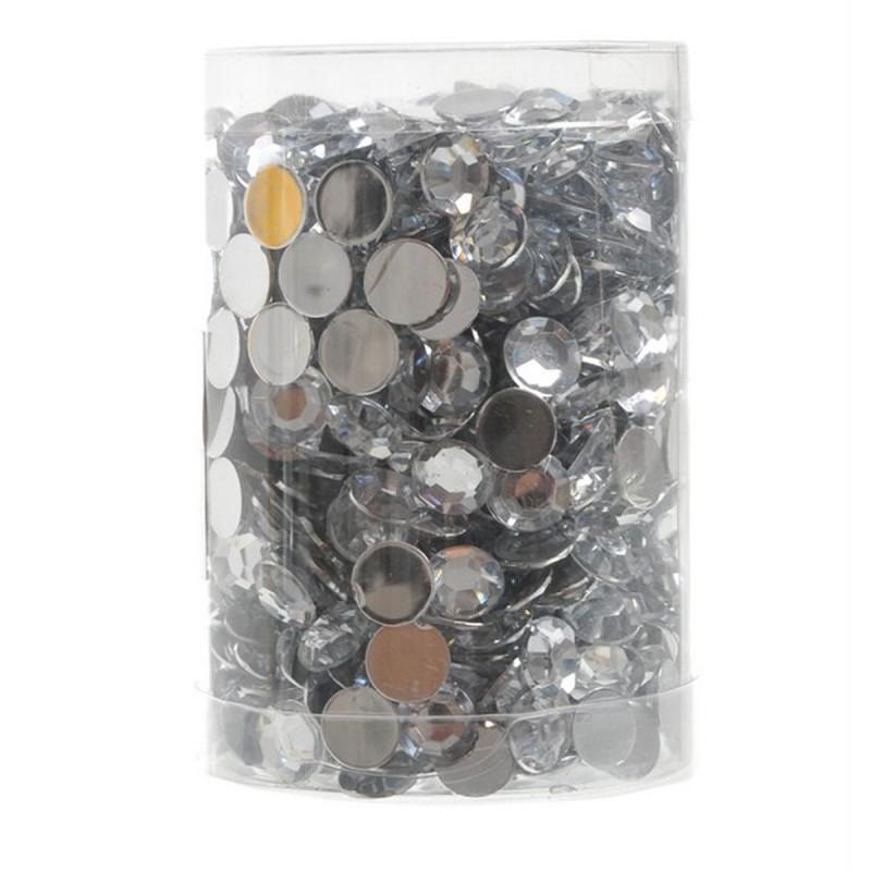 Set 1000 diamante Crystal 1cm