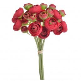 Set 9 fire trandafirasi rosii buttercup 30cm