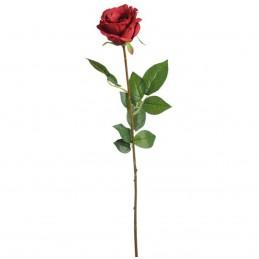 Trandafir artificial XL rosu 70 cm