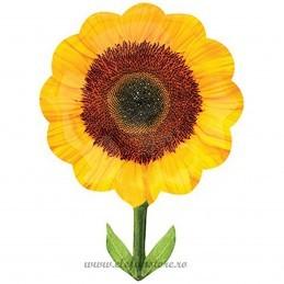 Balon Figurina Floarea Soarelui 75cm