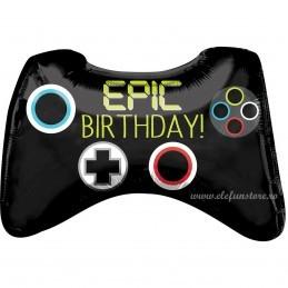 Balon Consola Gaming Epic Birthday 50cm