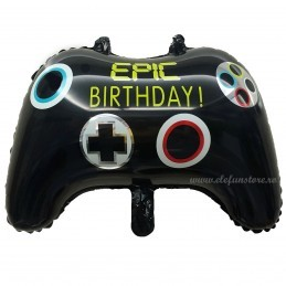 Balon Consola Gaming Epic Birthday 50cm