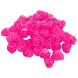 Set 500 trandafiri din spuma magenta 4cm