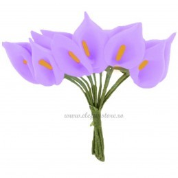 Set 144 cale lila din spuma 3cm
