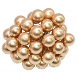 Set 100 Perle Aurii 20 mm, cu sarma