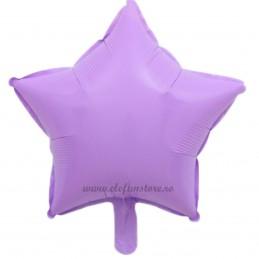 Balon Stea Lila Macaron 45cm