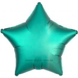 Balon Stea Verde Satin 45cm