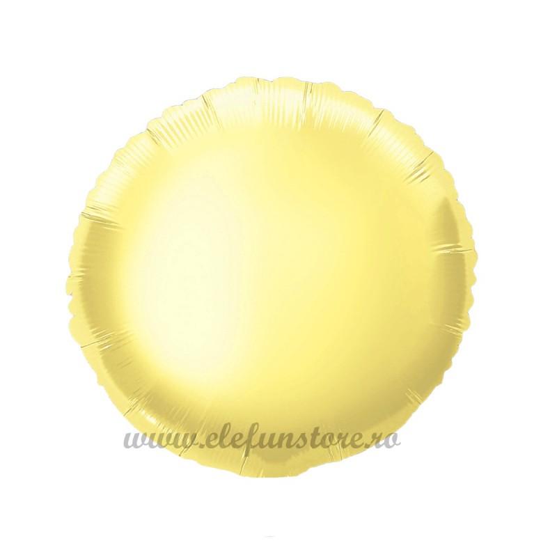 Balon Rotund Auriu 25cm