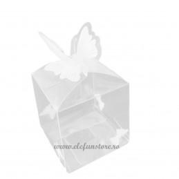 Cutie acetofan cu fluturas 7 cm