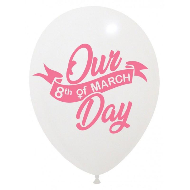 Set 10 baloane 8 Martie