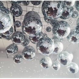 Glob Disco cu oglinzi 15 cm