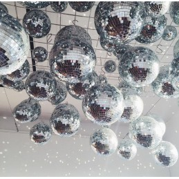 Glob Disco cu oglinzi 20 cm