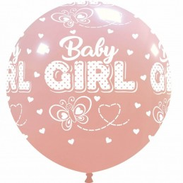 Balon Jumbo Baby Girl Fluturas