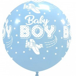 Balon Jumbo Baby Boy Aviator