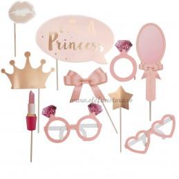 Set 10 Sabloane Foto Props Bride - I'm a Princess