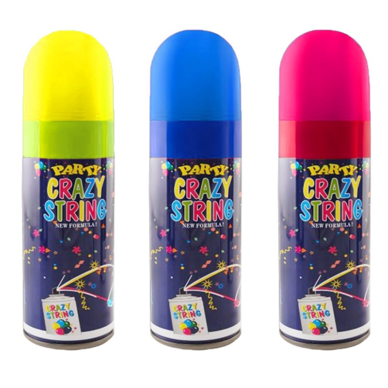 Spray Confetti Crazy String