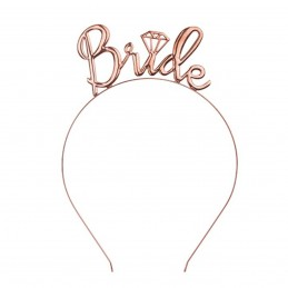 Coronita BRIDE rose gold metalic