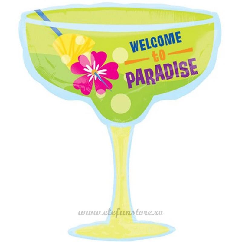 Balon Pahar Cocktail Paradise 80cm