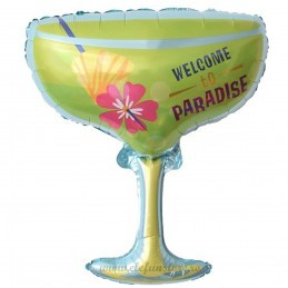 Balon Pahar Cocktail Paradise 80cm