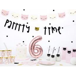 Set 6 farfurii Party Pisicute 22 cm