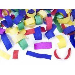 Mini Tun confetti lamele multicolore 20 cm