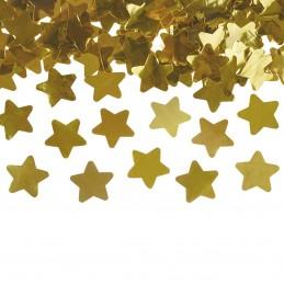 Tun confetti stelute aurii 60 cm