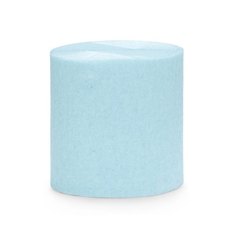 Set 4 role hartie creponata bleu, fasii 10m * 5cm