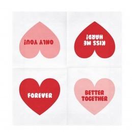 Set 20 servetele Sweet Love - Better Together