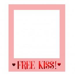 Rama Foto Props Love - Free Kiss roz