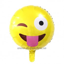 Balon Emoticon Wink 45cm