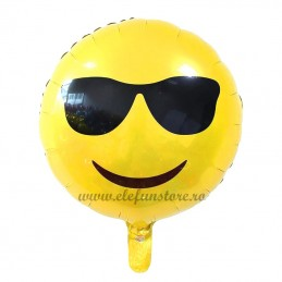 Balon Emoticon Cool 45cm