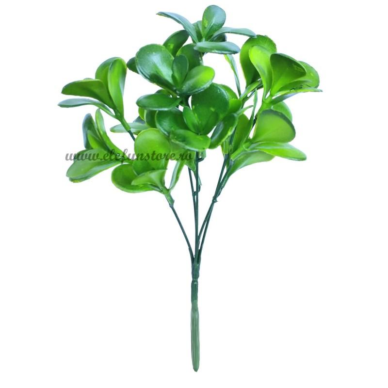 Buchet frunze rotunde, 5 fire 30 cm