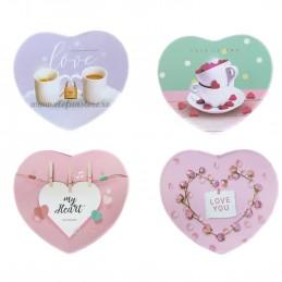 Cutie inima roz MY HEART 11 cm