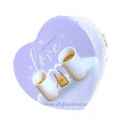 Cutie inima lila PRETTY LOVE 11 cm