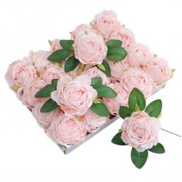 Set 5 crengute duble cu frunze de trandafir
