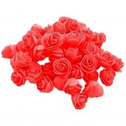 Set 500 trandafiri din spuma rosii 4cm