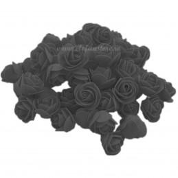 Set 500 trandafiri din spuma negri 4cm