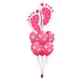 Balon Picioruse Fetita 65cm