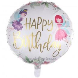 Balon Happy Birthday Fairy