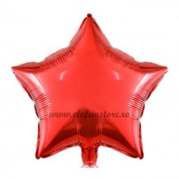 Balon Stea Rosie 45cm