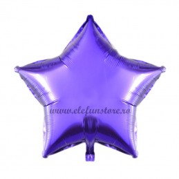 Balon Stea Mov 45cm