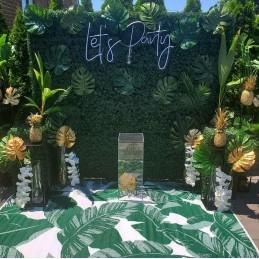 Frunza de Palmier Verde Inchis 46cm