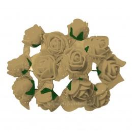 Set 144 trandafiri din spuma crem 2cm