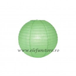 Lampion Verde 25cm
