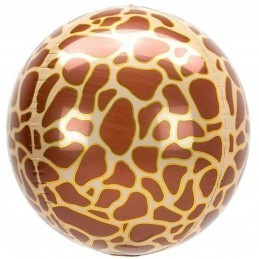 Balon Sfera 3D, model Girafa 60cm