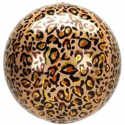 Balon Sfera 3D, model Leopard 60cm