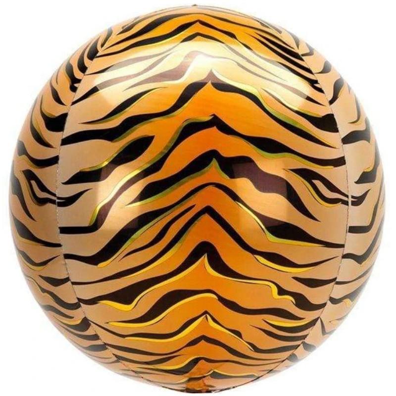 Balon Sfera 3D, model Tigru 60cm