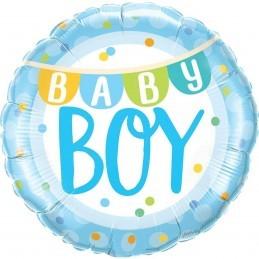 Balon Baby Boy cu stegulete