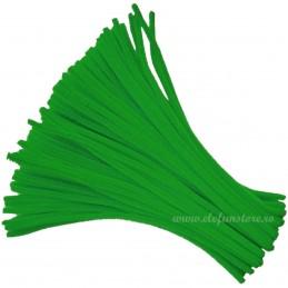 Set 100 Chenille-Sarma Plusata Verde Standard 30cm*5mm